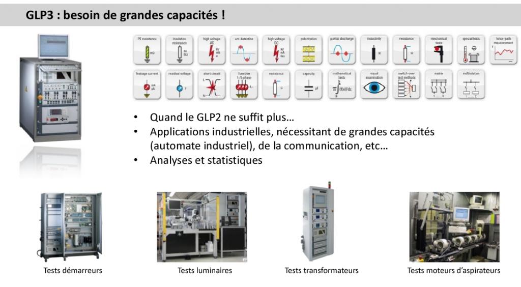 glp3 test electrique