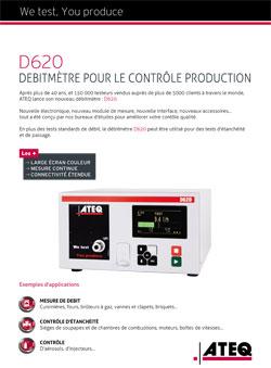 debitmetre controle production d620 ateq